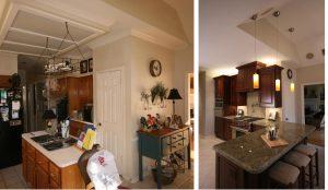 remodeled kitchen in Houston TX
