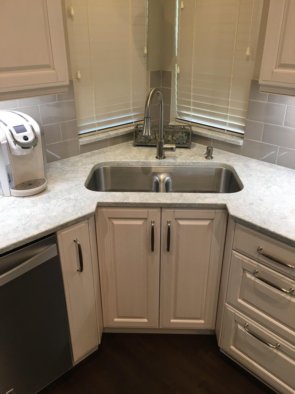 title | Kitchen Corner Sink