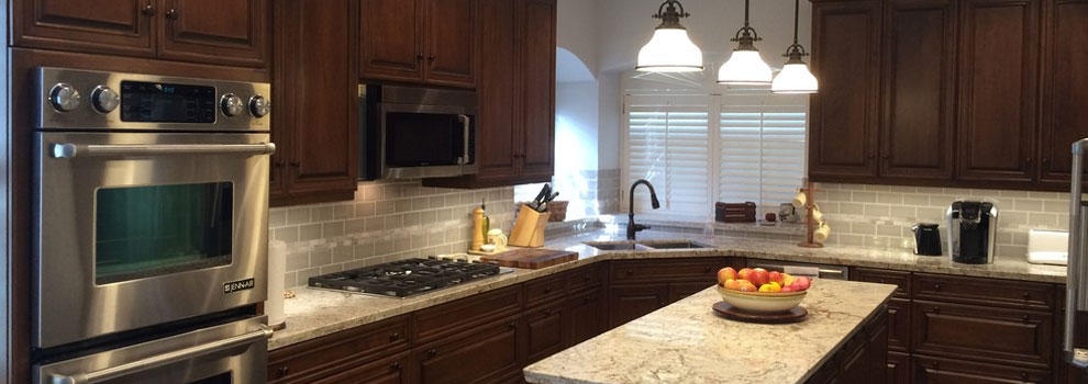 Custom Cherry Wood Cabinets in Friendship TX | Bay Area Kitchens