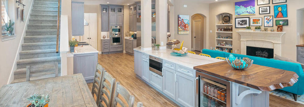 Gray Stained Walnut Cabinets And White Countertops Anchor This Gourmet Kitchen Bay Area Kitchens