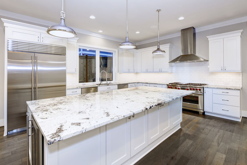 White Luxury Countertop
